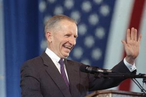 Ross Perot during his run for President of United States of America.