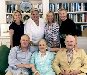 Ross Perot family portrait.