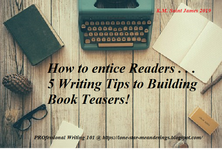 How to write better book teasers