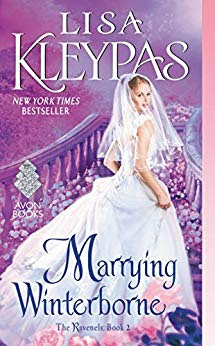 book cover for historical romance, Marrying Winterborne