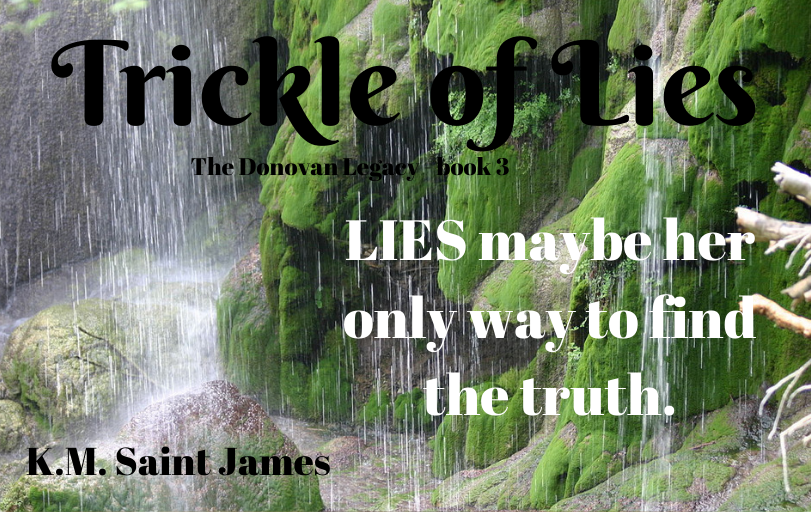 Trickle of Lies by K.M. Saint James