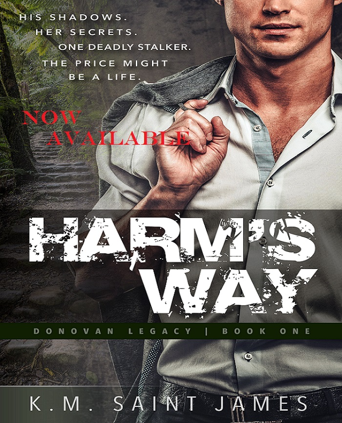 Harm's Way NOW Available book cover